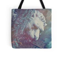 Haunted Lion Tote Bag
