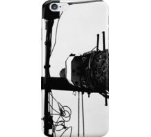 Black on White Wire iPhone Case/Skin