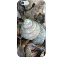 Shrooms and a shell iPhone Case/Skin