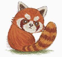 Red Panda look back T-Shirt