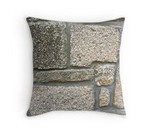 Coquina Blocks Throw Pillow