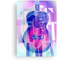 5161i Guitar with Face Canvas Print