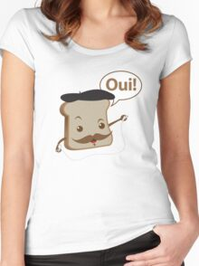 French Toast! Women's Fitted Scoop T-Shirt