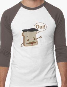 French Toast! Men's Baseball ¾ T-Shirt