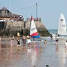 Broadstairs Beach: Kent, UK. by DonDavisUK