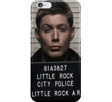 Supernatural - Dean Winchester Mugshot iPhone Case/Skin