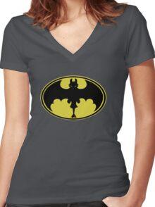 Nanananana Toothless Women's Fitted V-Neck T-Shirt