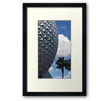 Epcot-Spaceship Earth Framed Print