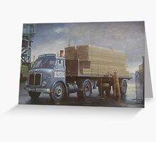 AEC Mercury artic Greeting Card