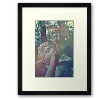 Haunted Child Framed Print