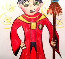 Whimsical Harry Potter by jonkania