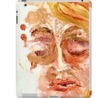 Semi Colon series; Anxiety Unfinished by Alma Lee iPad Case/Skin