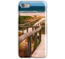 Pathway to the Beach iPhone Case/Skin