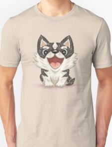 Happy Siberian husky Unisex T-Shirt