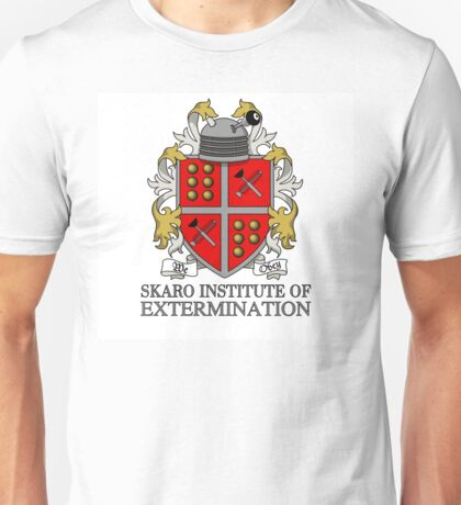 Skaro Institute Of Extermination Unisex T-Shirt