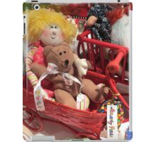 Bear Finds a Real Doll! iPad Case/Skin