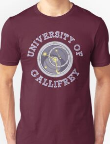 University Of Gallifrey (Black/Dark Colours) T-Shirt