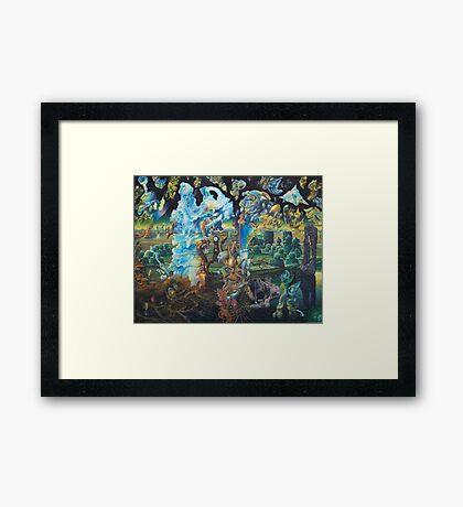 """Springtime in the Eleventh Dimension"" Framed Print"