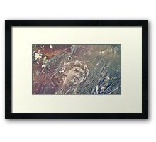 Haunted Head Framed Print