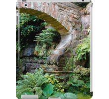 A stone arch decorates the garden iPad Case/Skin