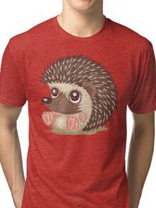 Round hedgehog Tri-blend T-Shirt