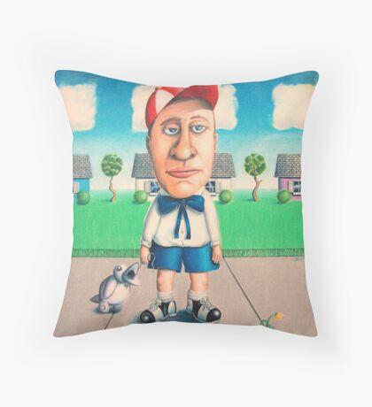 """""""Suburbia"""" Throw Pillow"""