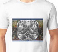 Beveled Silver Reflector Unisex T-Shirt