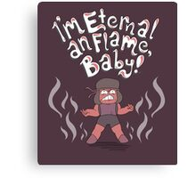 Ruby and the Eternal Flame Canvas Print