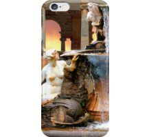 Historic Ornamental Fountain Display iPhone Case/Skin