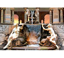 Historic Ornamental Fountain Display Photographic Print