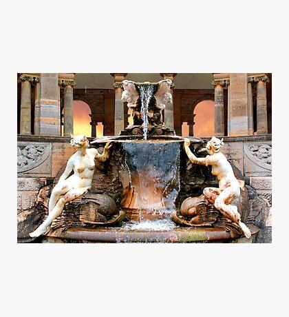 Historic Ornamental Fountain Display Photographic Print