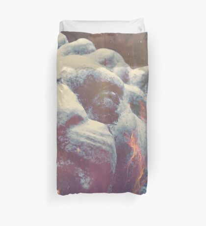 Haunted Courage  Duvet Cover