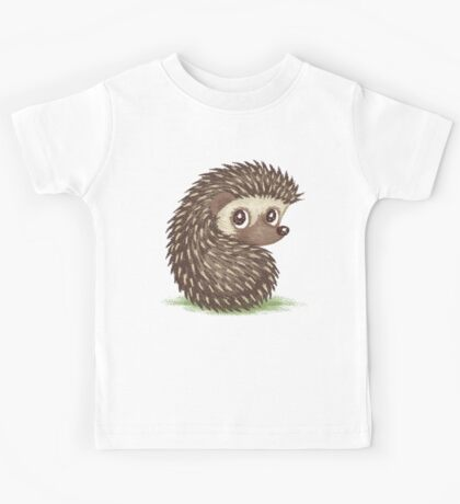 Hedgehog which looks at back Kids Clothes