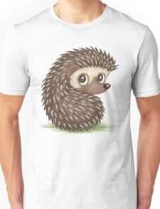Hedgehog which looks at back T-Shirt