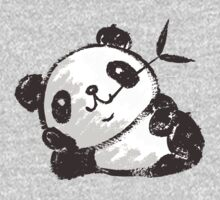 Panda that is relaxing One Piece - Long Sleeve