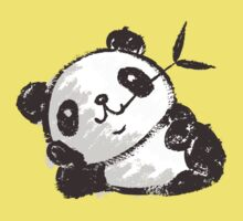 Panda that is relaxing One Piece - Short Sleeve
