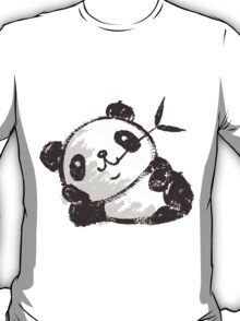 Panda that is relaxing T-Shirt