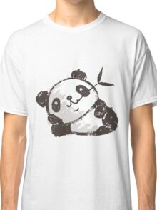 Panda that is relaxing Classic T-Shirt