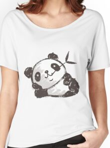 Panda that is relaxing Women's Relaxed Fit T-Shirt