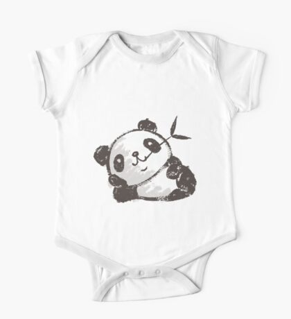 Panda that is relaxing Kids Clothes