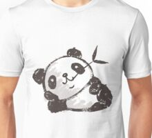 Panda that is relaxing Unisex T-Shirt