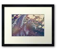 Haunted Griffin Framed Print