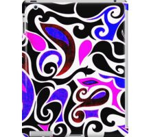 Wacky Retro Swirl iPad Case/Skin