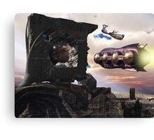 Transportal Delta-Niner Canvas Print