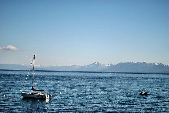 Sailing Lake Tahoe by NancyC