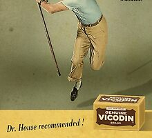 Dr. House Vicodin Recommended by aerogizz