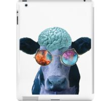 I wish that I could be like the cool cows iPad Case/Skin