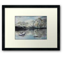 Winter Story  OFFER 250 $ !!! Framed Print