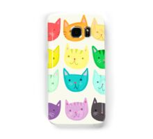 Rainbow Cats - Cute Cats - Colorful Cats  Samsung Galaxy Case/Skin