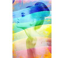 Beauty in all colors Photographic Print